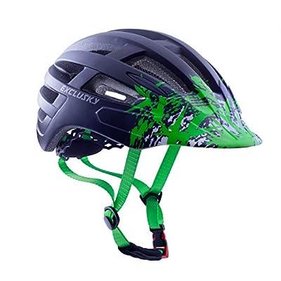 Exclusky Cycle Helmet CE Certified Adjustable Lightweight Bike Bicycle Helmets for Adult Women and Men from Exclusky