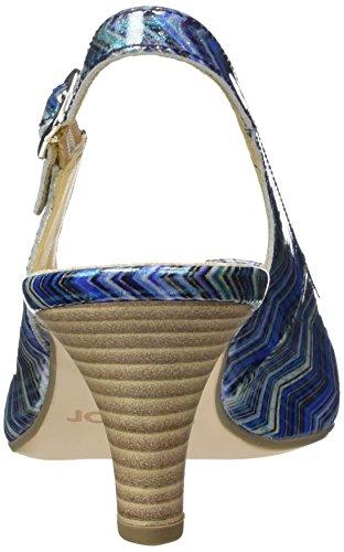 Gabor Shoes 41.550 Damen Slingback Pumps ,Blau (96 blau kombi) ,38 EU -