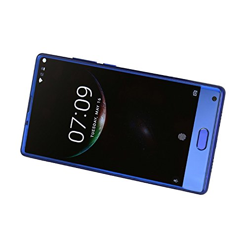 Doogee MIX 13,97 cm (5,5 Zoll) Smartphone (6GB RAM 64GB ROM Android 7.0 4G Helio P25 Octa-Kern 2,5 GHz Metallgehäuse Berührungssensor Front- und Doppel Rückkameras) Blau - 7