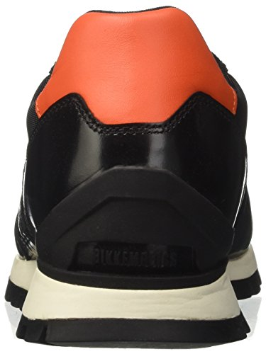 BIKKEMBERGS Herren fend-Er 947 Low-Top Nero (Black Orange)