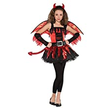 Amscan 997493 Teen Red Devil Costume - Age 12-14 Years - 1 Pc