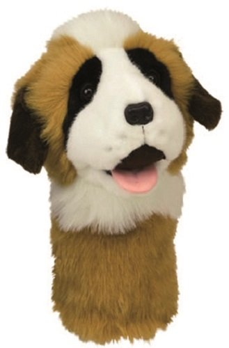 DAPHNE NOVELTY GOLF DRIVER HEADCOVER. ST BERNARD. -