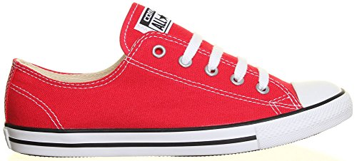 Converse As Dainty Femme Core Cvs Ox, Baskets mode femme Rouge - rouge