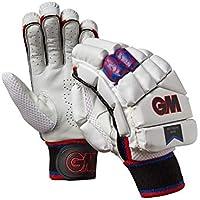 Gunn & Moore Mythos 606 - Guantes de bateo, Unisex Adulto, Color White/Silver/Black/Red/Blue, tamaño Xsmall Adult RH