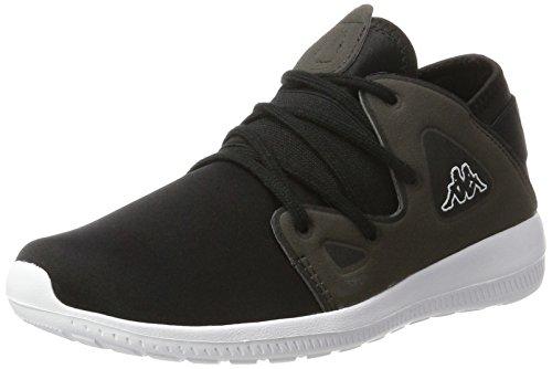 Kappa Unisex-Erwachsene Horus Sneaker Schwarz (1113 Black/Anthra)
