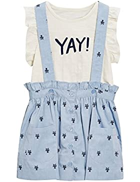 next Niñas Conjunto De Falda Con Tirantes Y Camiseta (3 Meses-6 Años) Estándar