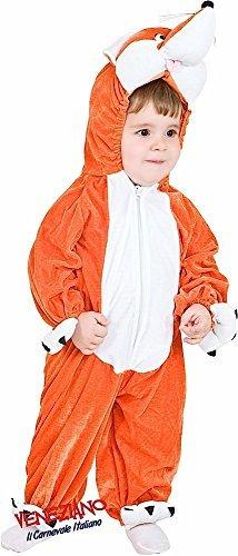 Fancy Me Italienische Herstellung Kleinkinder Jungen Mädchen Fox büchertag Woche Tier Kostüm Kleid Outfit 12-36 Monate - 3 (Fox Kostüm Kleinkind)