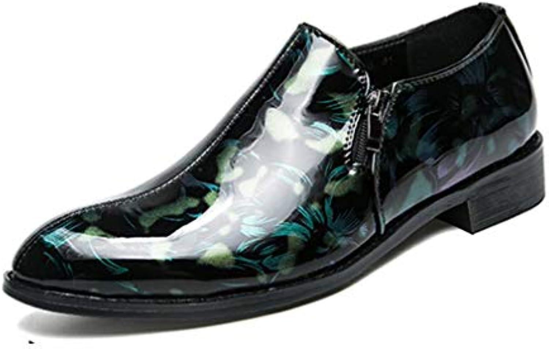 YaXuan Calzado de Caballero/Charol / Comfort de otoño/Zapatos Formales/Slip-ons/Vintage / Fiesta y Noche/Punta...