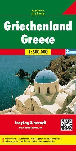 Grecia 1:500.000: Wegenkaart 1:500 000 Road Maps