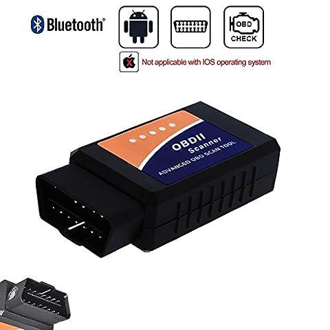 Golvery Car Bluetooth OBD OBD2 OBDII Diagnostic Scan Tool, Mini