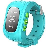 Winnes Bambini GPS Tracker Smartwatch Phone - Bambini Smartwatch Q50 Anti-perso da polso SIM SOS chiamata Voice Chat…