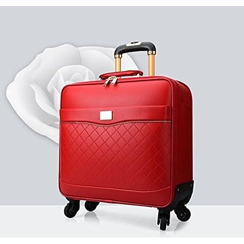 Inicio Monopoly Caja de la carretilla UNIVERSAL Mujer Maleta caja de embarque me registró equipaje
