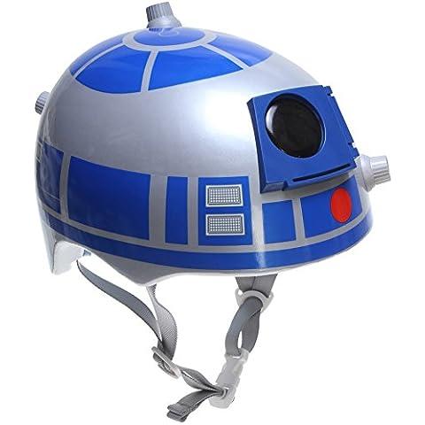 Star Wars 3d infantil, diseño de R2D2Casco de la bici