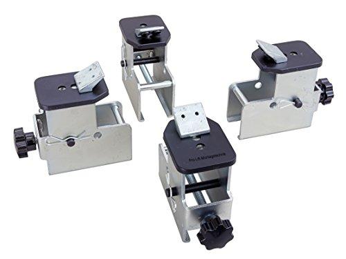Pro-Lift-Montagetechnik Auflagenerhöhung für Motorradfelgen für Reifenmontiergerät bis 23', BL502MAJ, 02139