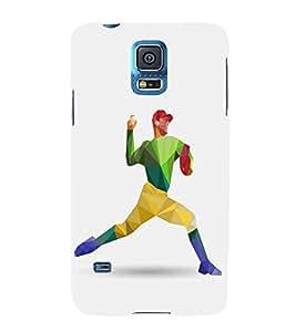FUSON Baseball Player Throw Ball 3D Hard Polycarbonate Designer Back Case Cover for Samsung Galaxy Grand 2 :: Samsung Galaxy Grand 2 G7105 :: Samsung Galaxy Grand 2 G7102 :: Samsung Galaxy Grand Ii