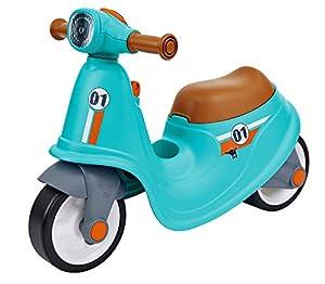 Big Classic 800056377 - Patinete Deportivo, Color Azul, marrón y Negro