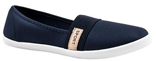 Elara - Pantofole Donna Blau