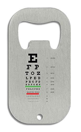 LukeTee Snellen Eye Test Chart Flaschenöffner