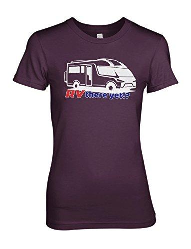 RV There Yet Recreational Vehicle Komisch Traveling Damen T-Shirt Lila