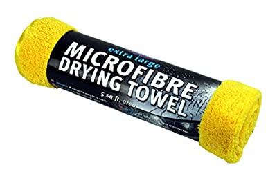 Kent Car Care GKEQ6100 Extra Large Microfibre Drying Towel - Yellow