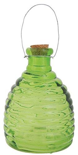 Piège à guêpes coloré en verre 15cm