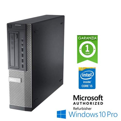 PC Optiplex 7010 DT Core i5 3470 4Gb 250Gb HDD DVD Windows 10 Professional con licenza nuova Simpaticotech MAR Microsoft Authorized Refurbisher