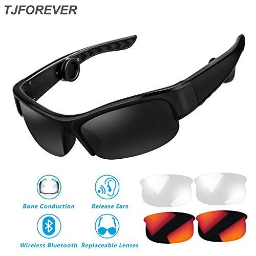 Gafas Sol conducción ósea Auriculares Bluetooth