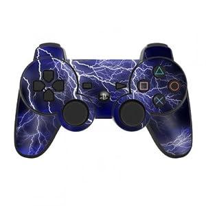 Skins4u Playstation 3 Controller Skin – Design Sticker Set für PS3 Gamepad – Apocalypse Blue