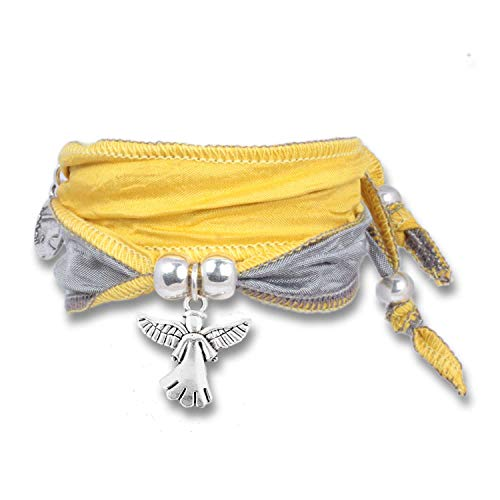 ANISCH DE LA CARA Damen Armband Fresh Lemon - Little Angel Symbolarmband Happy Symbols - ArtNr. 90111-h