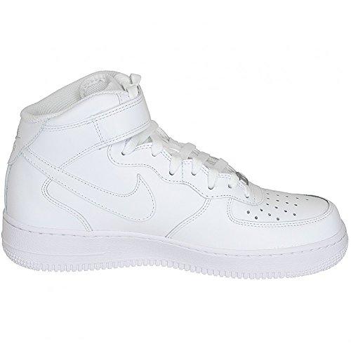 Nike Air Force 1 Mid 07 Sneaker Trainers Blanc - Blanc