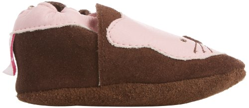 Shoo - Cat, Scarpe primi passi Bambina Marrone (Brown/Pink)