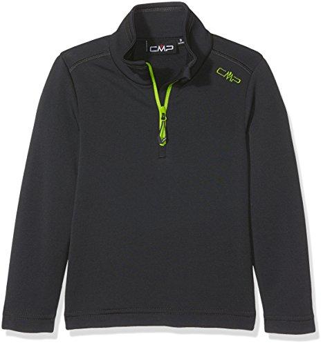 CMP - F.lli Campagnolo Jungen Funktionsshirt, Antracite, 152, 3E14244 (Jungen-fleece-shirt)