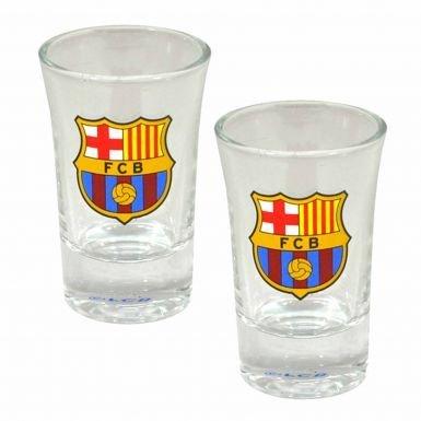 Este par de gafas de FC Barcelona Shot mide 7.5cm de altura y se disfrutar hacer su licor sabor mejor... 100% Producto Oficial del FC Barcelona.