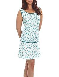 f4e57bf678955d Graziella Nachthemd Theodora 90 cm lang Sleepshirt Nachtkleid 9 Gr. 36/38-52 /54 Nachtwäsche 100% BW…