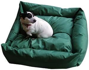 Bronte Glen Trojan Waterproof Cosy Dog Bed, Medium, Green