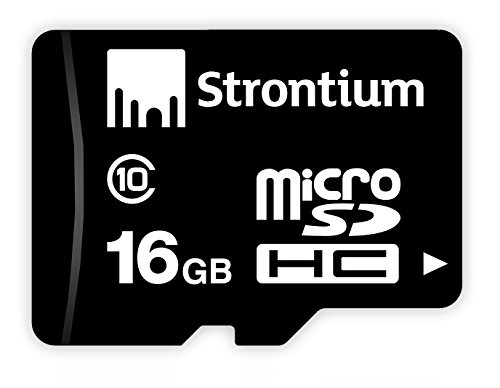 Strontium 16GB Class 10 MicroSD Memory Card