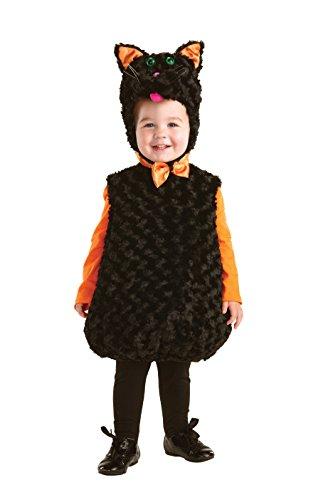 Schwarz Katze Kostüm für Kleinkinder Gr. X-Large,  - (Or Kleinkinder Kostüme Für Treat Trick)