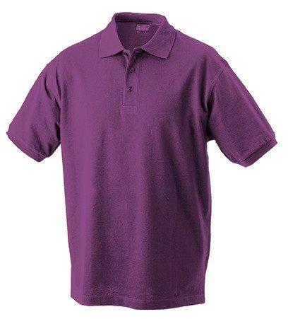 Klassisches Herren Poloshirt Purple
