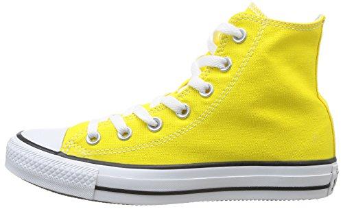 Converse All Star Hi Canvas Seasonal, Sneaker, Unisex Giallo (Citrus)