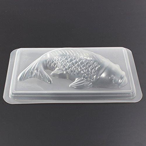 Bluelover Koi Fish 3D Stampo Torta Cioccolato Gelatina Zucchero Mestiere Della Muffa M