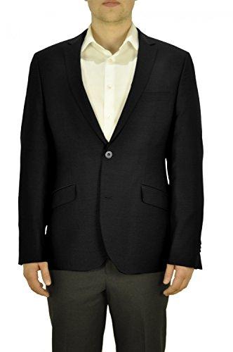 Michaelax-Fashion-Trade - Blazer - Uni - Manches Longues - Homme Schwarz(99)