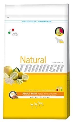 Trainer Natural - Natural Trainer Adult Mini con Pollo, Riso e Aloe Vera per Cani - Sacco da 7,5 kg