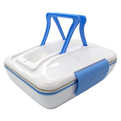 topxingch 820 ml tragbare elektrische Heizung Brotdose Speisenwärmer Bento Vorratsbehälter Blau *UK Plug