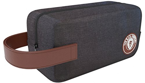 Toiletry-Bag-Dopp-Kit-Convenient-Mens-Grooming-Kit-for-Shaving-Beard-Products-Easy-for-Travel-Flexible-Durable-Roomy-Bag-Handle-for-Style-Easy-Carrying