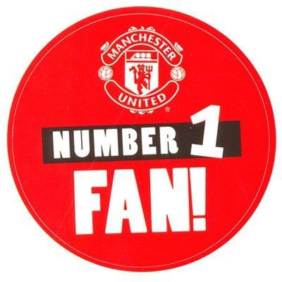 Manchester United F C  Sticker No1 Fan
