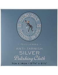 Town Talk Jewellery Care Cleaning Cleaner Mini Silver Polishing Cloth