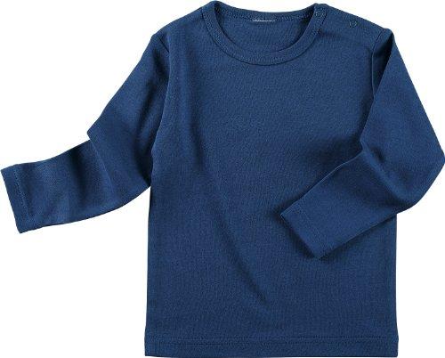 Baby Butt Langarmshirt Interlock-Jersey marine Größe 50 / 56