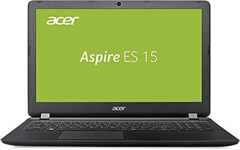 Acer Aspire ES 15 (ES1-533-P5QH) 39,62 cm (15,6 Zoll HD) Office Notebook (Intel Pentium N4200, 4 GB RAM, 500 GB HDD, Intel HD Graphics, ac-Wlan, Bluetooth, HDMI, SD Kartenleser, Win 10 Home) schwarz