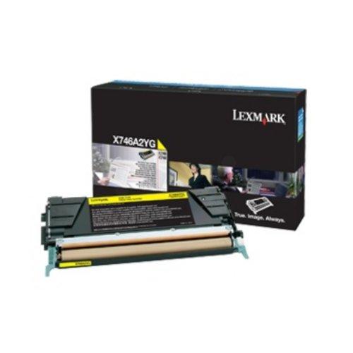 Preisvergleich Produktbild Lexmark X746A3YG Tintenpatrone für X746/X748 gelb
