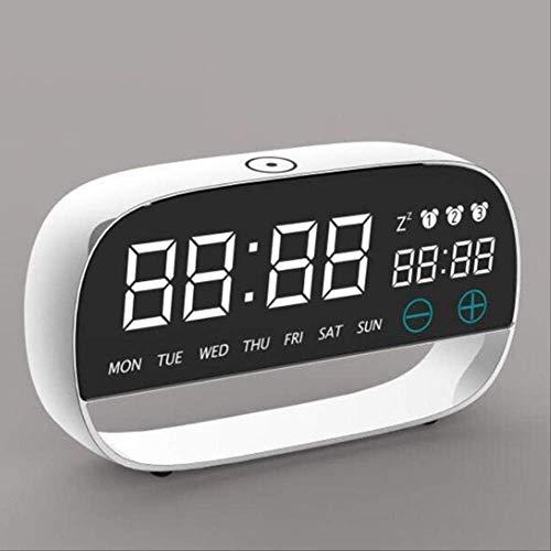 WWEDSF Reloj despertadorRelojes De Mesa Digitales